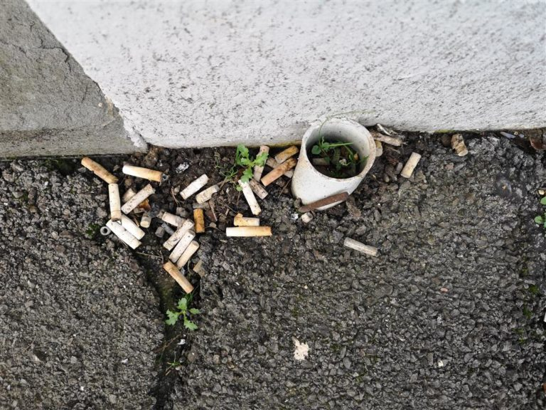 Cigarette butts are litter too