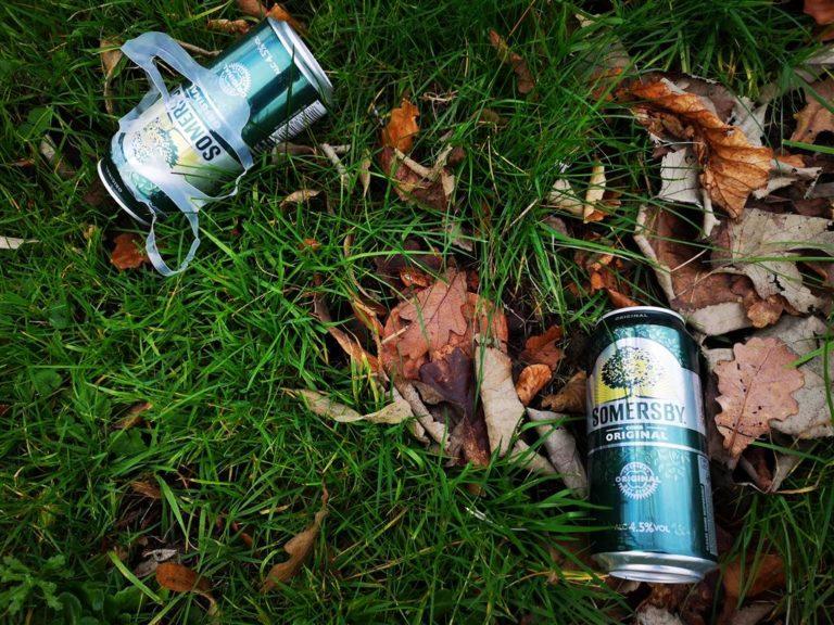 Littered Cider Cans